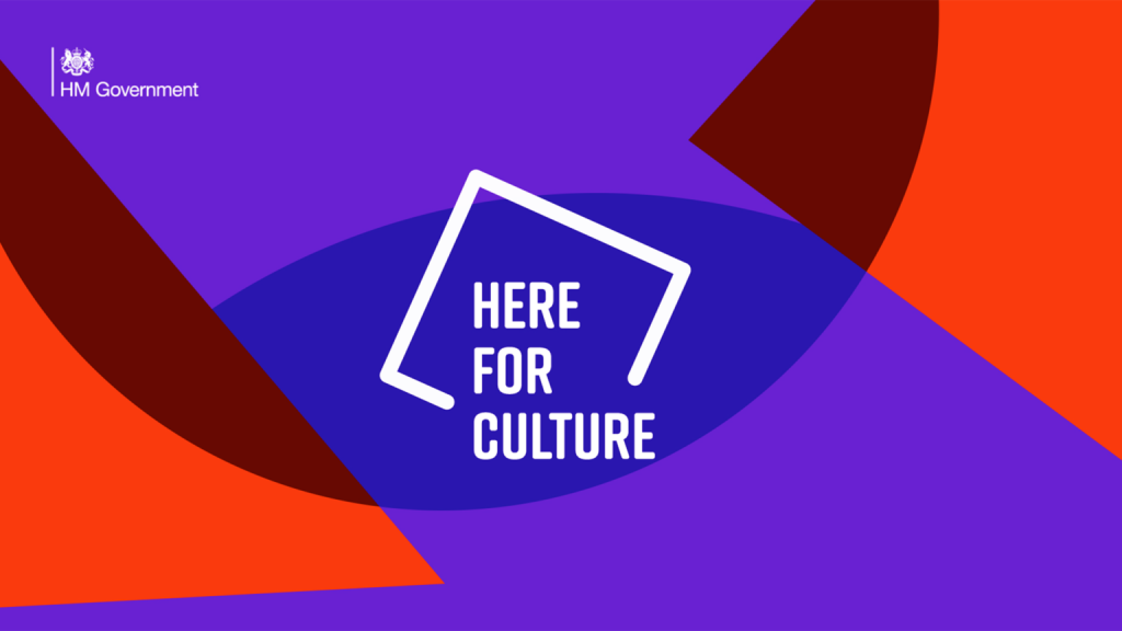 Here for Culture Fund logo