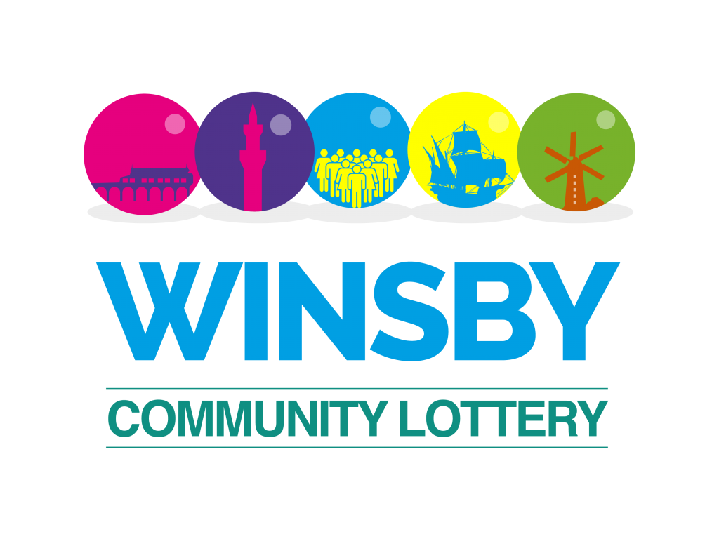 Winsby Community Lottery logo