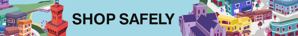 Shop safely banner