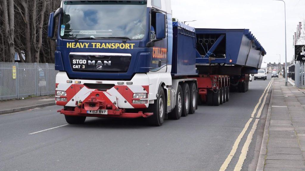 New bridge arriving in Grimsby