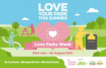 Love Parks poster. All information in the article text.