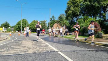 Runners at the Grimsby 10k