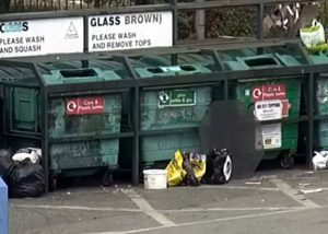 Rubbish dumped at Garibaldi Street car park 18-05-19
