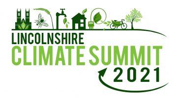Lincolnshire Climate Summit 2021 logo.