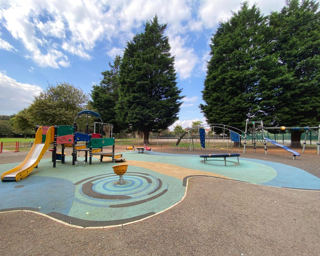 Haverstoe Park play area in Cleethorpes