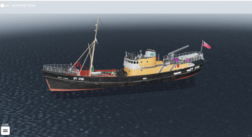A screenshot of the Ross Tiger's virtual tour