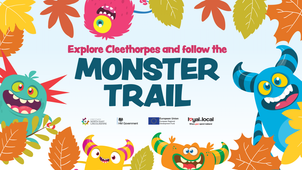 Monster trail event poster
